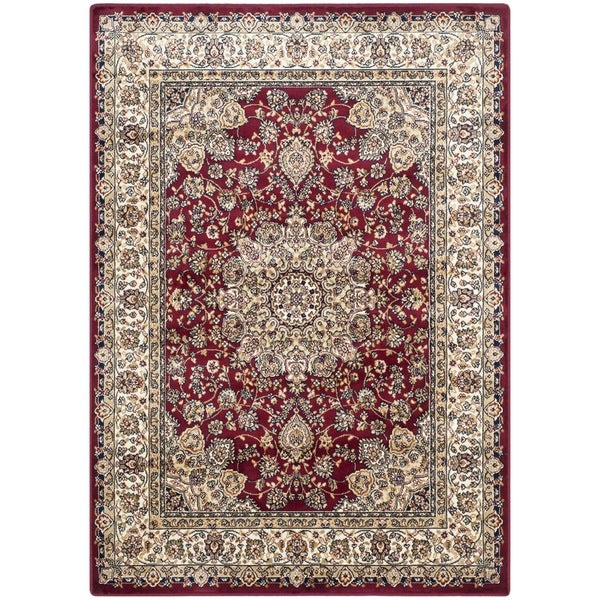 Safavieh Persian Garden Red/ Ivory Viscose Rug - 8' x 11'