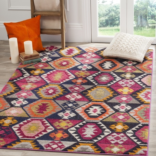 Safavieh Monaco Bohemian Multicolored Rug - 8' x 11'