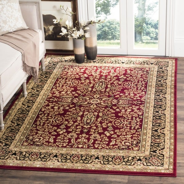 Safavieh Lyndhurst Traditional Oriental Red Black Rug 12