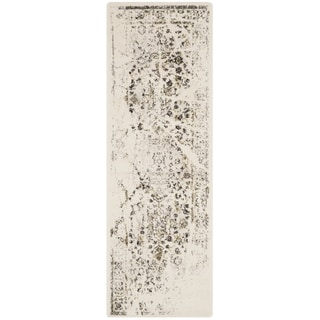 Safavieh Porcello Ivory/ Light Grey Rug (2'4 x 9')