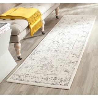 Safavieh Porcello Ivory/ Light Grey Rug (2'4 x 9')