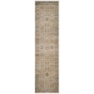 Safavieh Vintage Ivory/ Light Blue Rug (2'2 x 8')