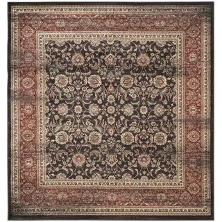 Safavieh Vintage Black/ Rust Rug (6'7 Square)