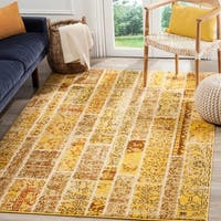 Safavieh Monaco Patchwork Yellow/ Multicolored Rug - 8' X 11'