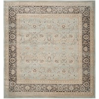 Safavieh Vintage Oriental Light Blue/ Black Distressed Rug - 6'7 Square