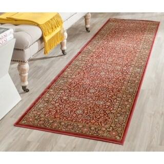 Safavieh Persian Garden Red/ Brown Viscose Rug (2'2 x 8')