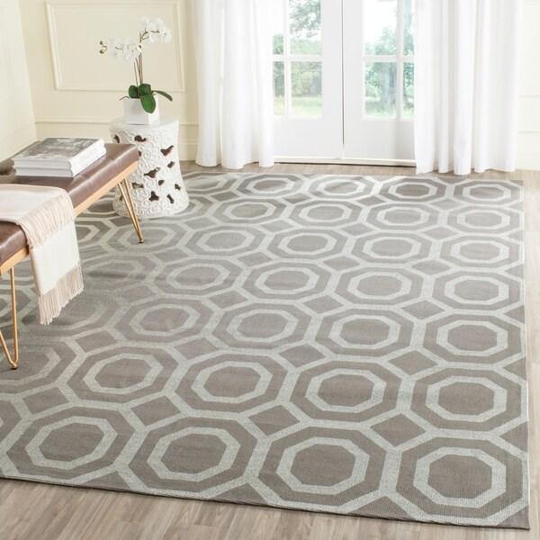 Safavieh Handmade Cedar Brook Grey/ Silver Jute Rug (7'3 x 9'3) - 7'3 x 9'3