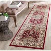 Safavieh Persian Garden Red/ Ivory Viscose Rug - 2'2 x 8'
