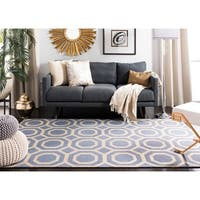 Safavieh Handmade Cedar Brook Grey/ Gold Jute Rug (4' x 6') - 4' x 6'