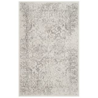 Safavieh Adirondack Vintage Distressed Ivory / Silver Rug (2'6 x 4')|https://ak1.ostkcdn.com/images/products/9943250/P17098147.jpg?impolicy=medium
