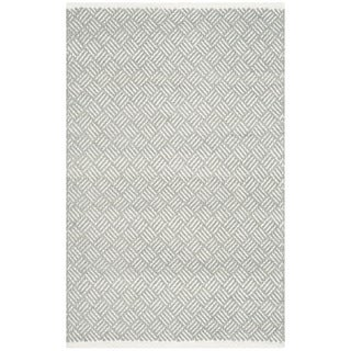 Safavieh Hand-Tufted Boston Grey Cotton Rug (2'6 x 4')
