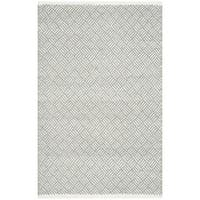 Safavieh Hand-Tufted Boston Grey Cotton Rug - 2'6 x 4'