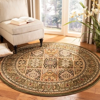 Safavieh Lyndhurst Traditional Oriental Multi/ Green Rug (10' Round)