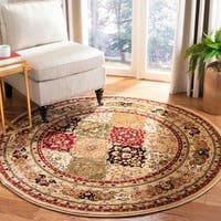 Safavieh Lyndhurst Traditional Oriental Multicolor/ Black Rug - 10' Round