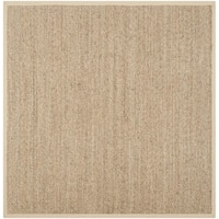 Safavieh Casual Natural Fiber Multi Seagrass Area Rug - 10' x 10'