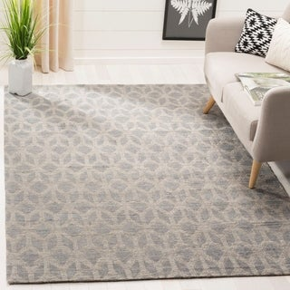 Safavieh Cape Cod Handmade Grey / Gold Jute Natural Fiber Rug (5' x 8')
