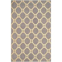 Safavieh Handmade Cedar Brook Grey/ Gold Jute Rug (7'3 x 9'3) - 7'3 x 9'3