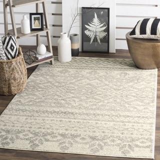 Safavieh Adirondack Ivory/ Silver Rug (10' Square)