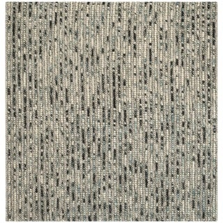 Safavieh Hand-Knotted Bohemian Grey/ Multi Jute Rug (10' Square)