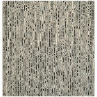 Safavieh Hand-Knotted Bohemian Grey/ Multi Jute Rug - 10' square