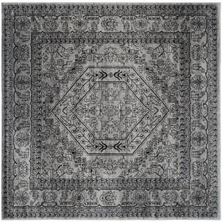 Safavieh Adirondack Vintage Silver/ Black Rug - 10' square
