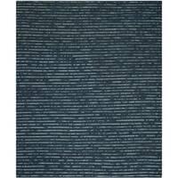 Safavieh Hand-Knotted Bohemian Dark Blue/ Multi Jute Rug - 11' x 15'