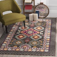 Safavieh Monaco Bohemian Brown/ Multicolored Rug (3' x 5')