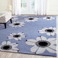 Safavieh Hand-Tufted Allure Blue Wool Rug - 8' x 10'