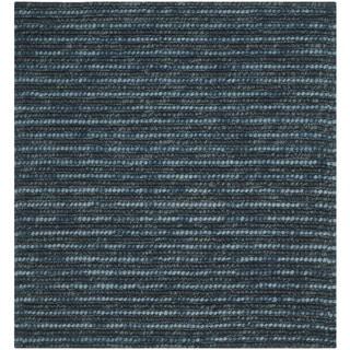 Safavieh Hand-Knotted Bohemian Dark Blue/ Multi Jute Rug (10' Square)