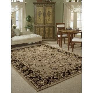 Rug Squared Worcester Taupe Rug (3'6 x 5'6)