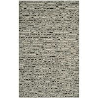 Safavieh Hand-Knotted Bohemian Grey/ Multi Jute Rug (11' x 15') - 11' x 15'