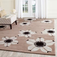Safavieh Hand-Tufted Allure Brown Wool Rug - 8' x 10'
