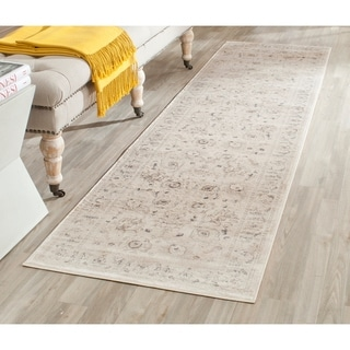 Safavieh Vintage Oriental Light Grey/ Ivory Distressed Rug (2'2 x 6')