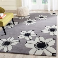 Safavieh Hand-Tufted Allure Grey Wool Rug - 5' x 8'