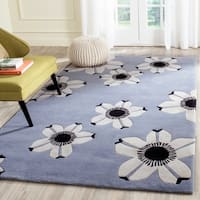Safavieh Hand-Tufted Allure Blue Wool Rug - 4' x 6'