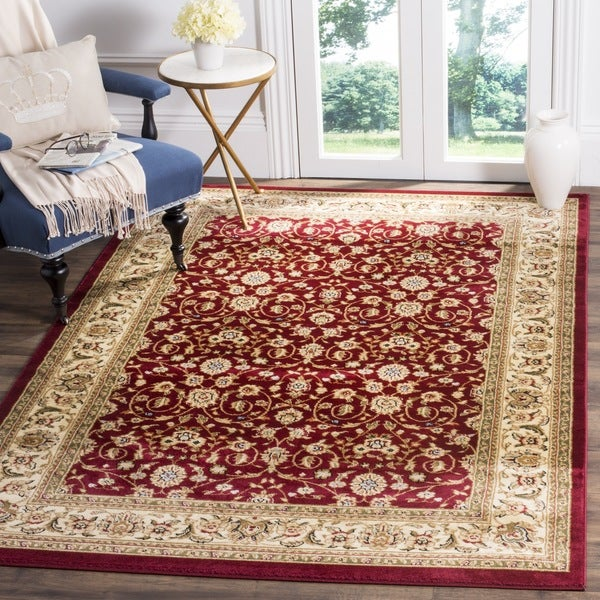 Shop Safavieh Lyndhurst Traditional Oriental Burgundy