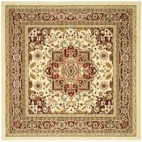 Safavieh Lyndhurst Traditional Oriental Ivory/ Red Rug (10' Square)