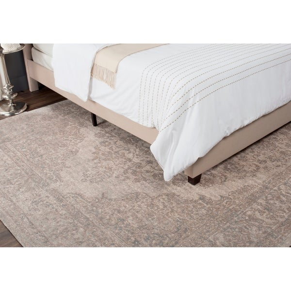 Safavieh Classic Vintage Beige Cotton Distressed Rug - 8' X 11'