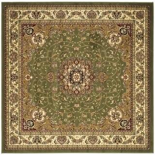 Safavieh Lyndhurst Traditional Oriental Sage/ Ivory Rug - 10' square