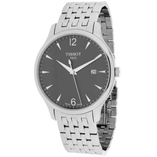 Tissot Men's T0636101106700 Tradition Round Silvertone Bracelet Watch