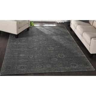 Nourison Luminance Graphite Rug (7'6 x 10'6)