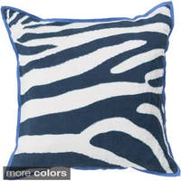 Decorative Danelli 18-inch Poly or Down Filled Throw Pillow