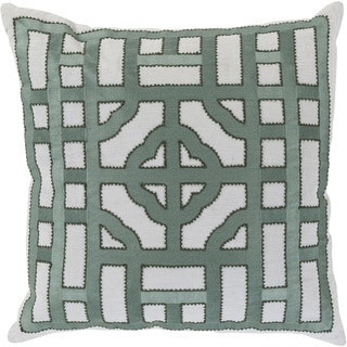 Decorative Felder 18-inch Poly or Down Filled Throw Pillow