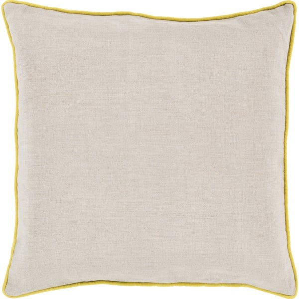 Decorative Kirwan 18-inch Poly or Feather Down Filled Throw Pillow