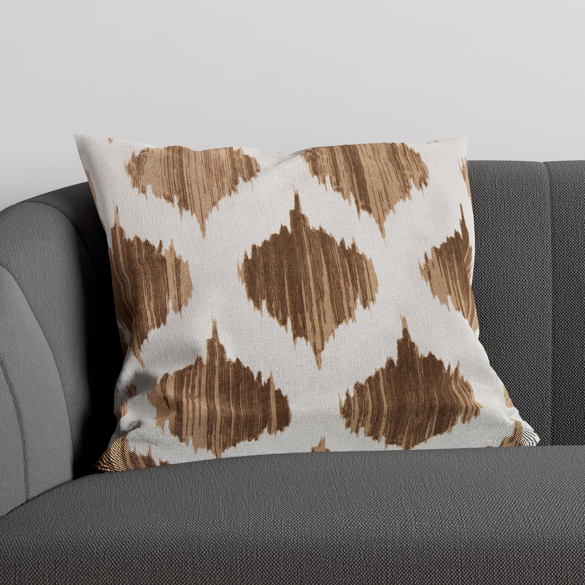 Allston-Brighton Denby Decorative 18-inch Poly or Down-filled Throw Pillow