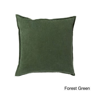 Decorative Harrell 18-inch Poly or Down Filled Throw Pillow