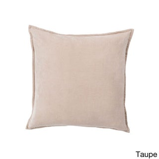 Decorative Harrell 18-inch Poly or Feather Down Filled Throw Pillow