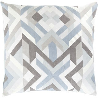 Decorative Hetton 18-inch Poly or Down Filled Throw Pillow