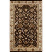 Hand-Tufted Brisa Border Wool Area Rug (8' x 11')
