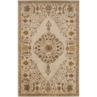 Hand-Tufted Clyde Medallion Wool Rug (9' x 13')